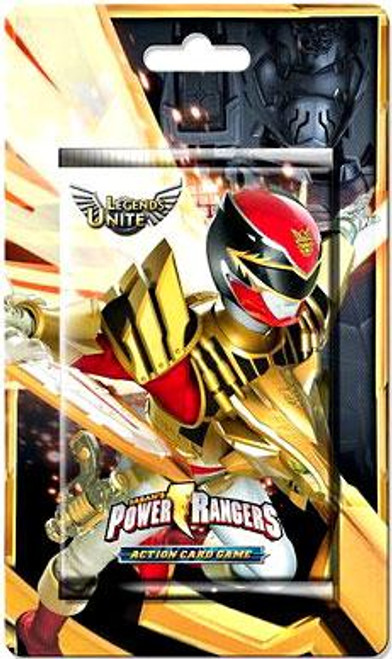 Power Rangers Action Trading Card Game Legends Unite Booster Pack [10 Cards]