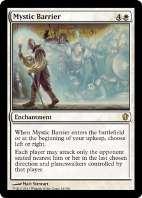 MtG Commander 2013 Rare Mystic Barrier #18
