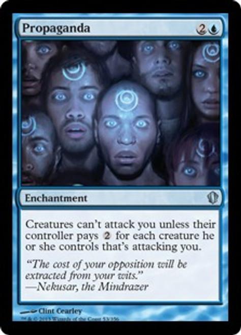 MtG Commander 2013 Uncommon Propaganda #53