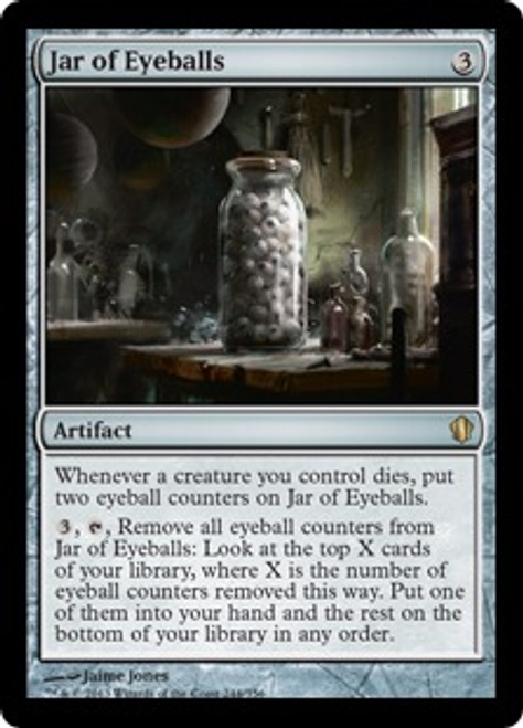 MtG Commander 2013 Rare Jar of Eyeballs #244