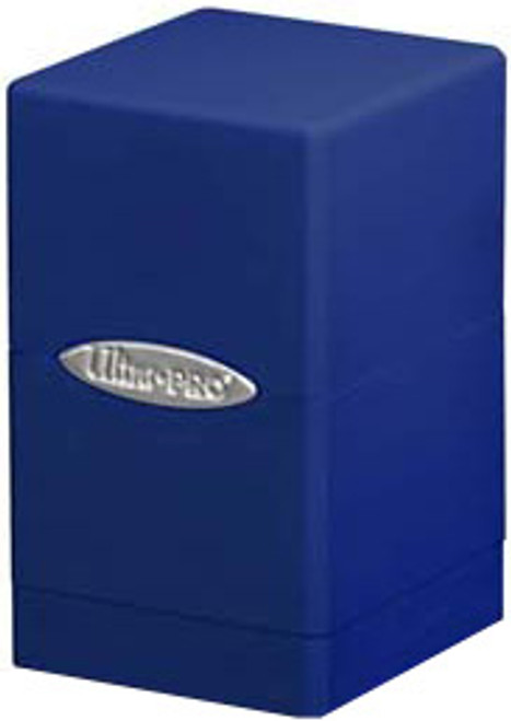 Ultra Pro Card Supplies Satin Tower Blue Deck Box