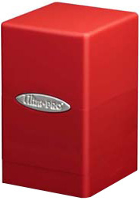 Ultra Pro Card Supplies Satin Tower Red Deck Box