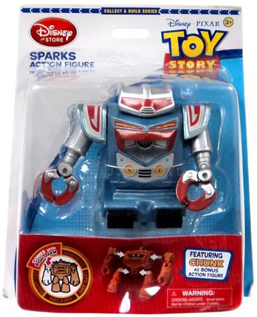 Disney Toy Story Collect and Build Chunk Sparks Exclusive Action Figure