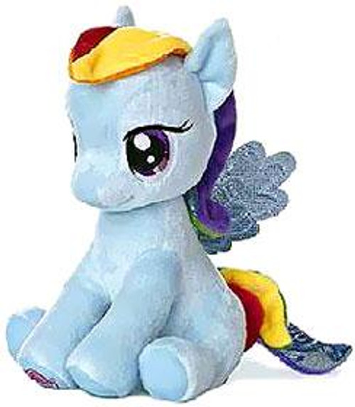 My Little Pony Friendship is Magic Large 10 Inch Rainbow Dash Plush [Sitting]