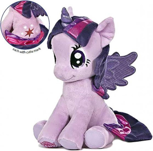 My Little Pony Friendship is Magic Large 10 Inch Twilight Sparkle Plush [Sitting]