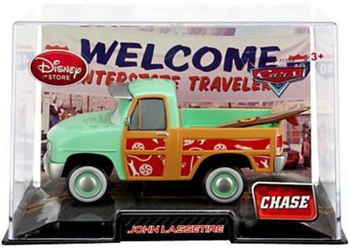 Disney / Pixar Cars 1:43 Collectors Case John Lassetire Exclusive Diecast Car [Chase Edition]