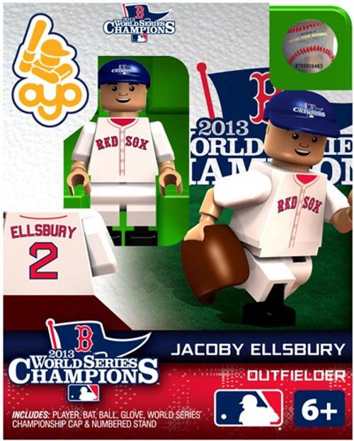 Boston Red Sox MLB 2013 World Series Champions Jacoby Ellsbbury Minifigure