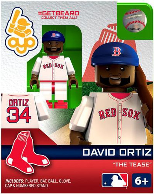Boston Red Sox MLB Getbeard David Ortiz Minifigure GETBEARD [The Tease]