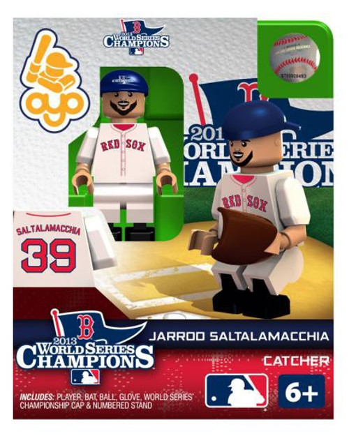 Boston Red Sox MLB 2013 World Series Champions Jarrod Saltalamacchia Minifigure