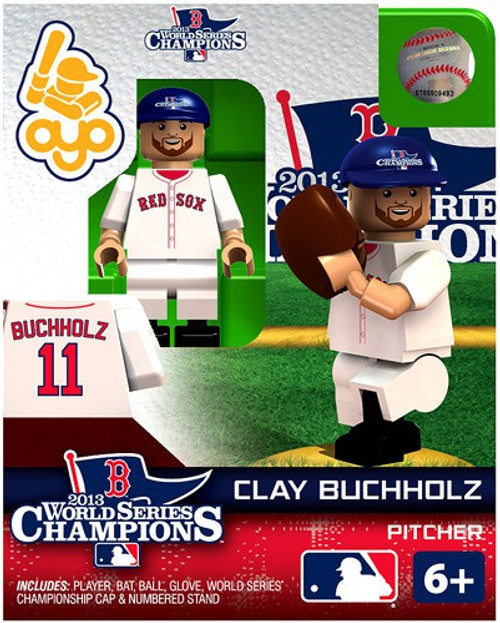 Boston Red Sox MLB 2013 World Series Champions Clay Buchholtz Minifigure