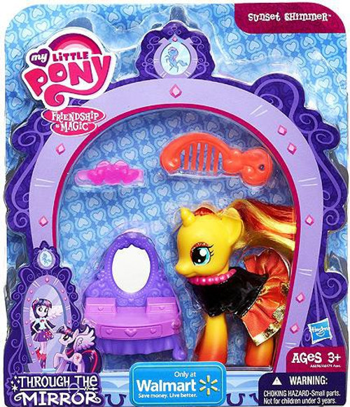 My Little Pony Friendship is Magic Through the Mirror Sunset Shimmer Exclusive Figure