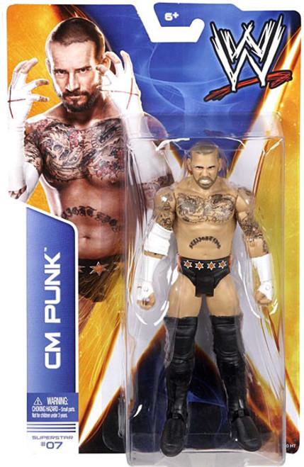 WWE Wrestling Series 36 CM Punk Action Figure #7