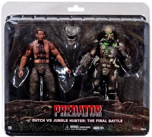 NECA Predator Dutch vs. Jungle Hunter Exclusive Action Figure [The Final Battle]