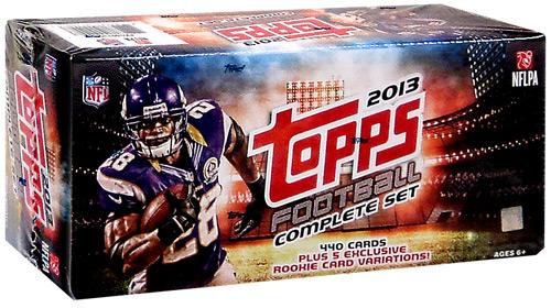 NFL Topps 2013 Football Trading Card Complete RETAIL Set