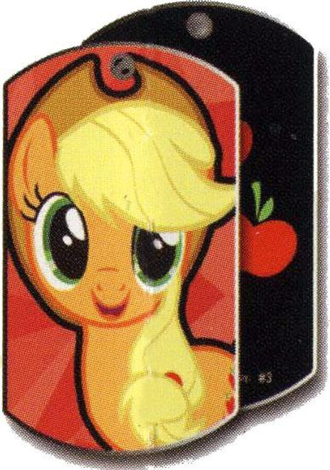 My Little Pony Friendship is Magic Dog Tags Applejack Dog Tag #3 [Loose]