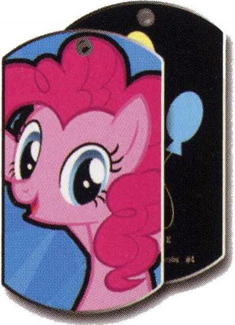My Little Pony Friendship is Magic Dog Tags Pinkie Pie Dog Tag #34 [Loose]