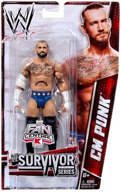 WWE Wrestling Survivor Series CM Punk Exclusive Action Figure