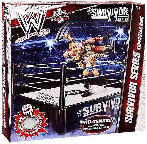 WWE Wrestling Survivor Series Exclusive Superstar Ring