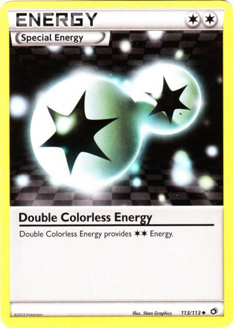 Pokemon Black & White Legendary Treasures Uncommon Double Colorless Energy #113