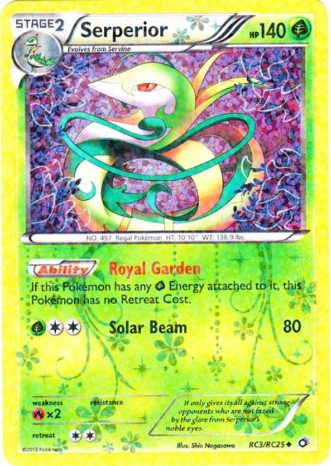 Pokemon Black & White Legendary Treasures Radiant Collection Uncommon Serperior RC3