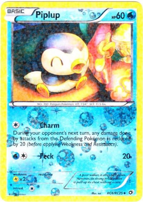 Pokemon Black & White Legendary Treasures Radiant Collection Uncommon Piplup RC6