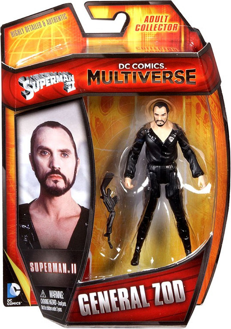 Superman DC Comics Multiverse General Zod Action Figure [Superman II]