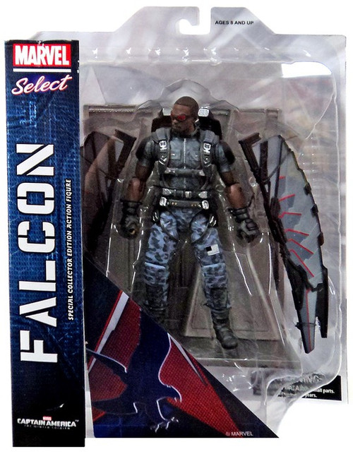 Captain America The Winter Soldier Marvel Select Falcon Action Figure