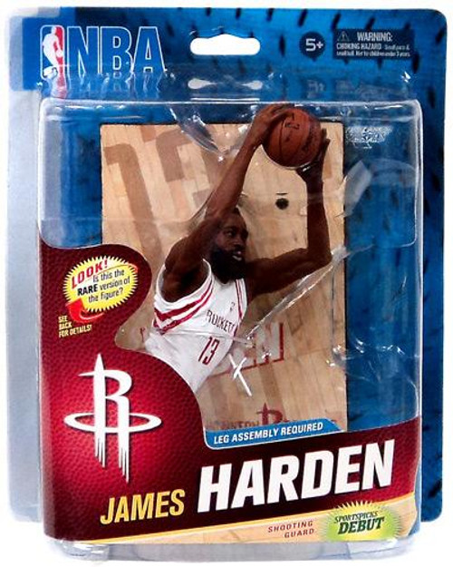 McFarlane Toys NBA Houston Rockets Sports Picks Series 23 James Harden Action Figure [White Jersey]