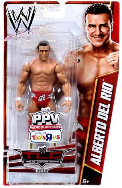 WWE Wrestling Pay Per View TLC 2013 Alberto Del Rio Exclusive Action Figure