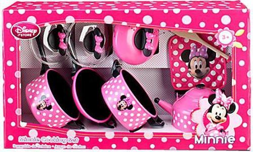 Disney Minnie Mouse Cooking Set Exclusive Playset [2013, Set #1]