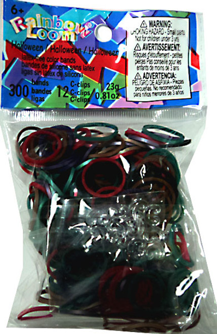 Rainbow Loom Halloween Mix Rubber Bands Refill Pack [300 Count]