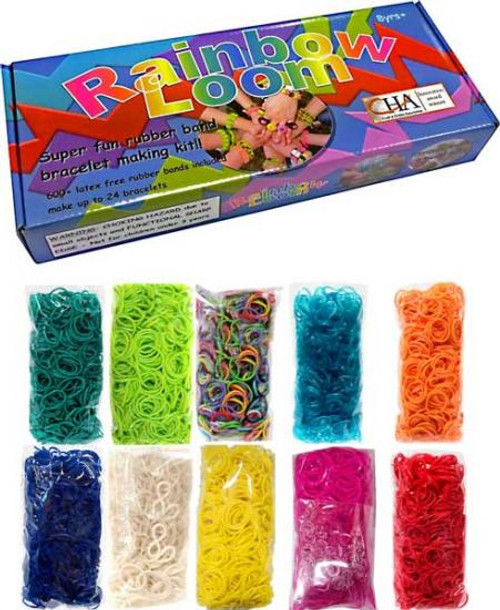 Rainbow Loom Starter Kit [with 6000 additional bands]