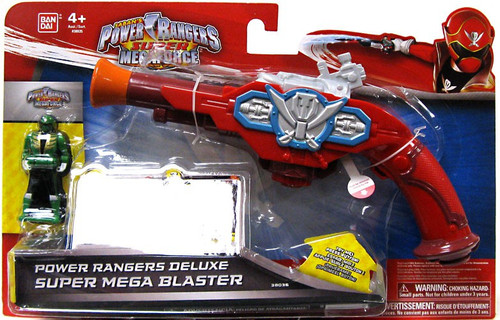 Super Megaforce Power Rangers Deluxe Super Mega Blaster Roleplay Toy