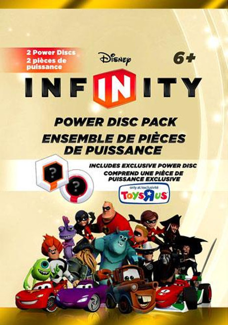 Disney Infinity Series 5 Exclusive Power Disc Pack [Gold]