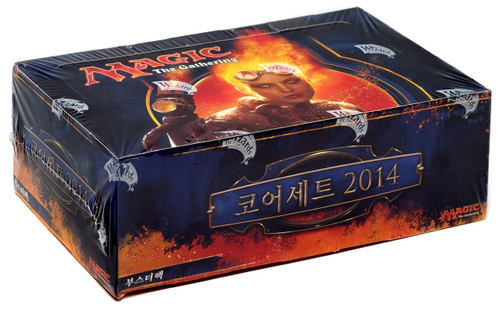 MtG Trading Card Game 2014 Core Set Booster Box [Korean]