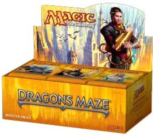 MtG Trading Card Game Dragon's Maze Booster Box [Spanish]