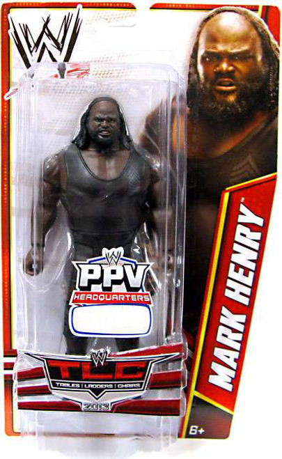 WWE Wrestling Pay Per View TLC 2013 Mark Henry Exclusive Action Figure