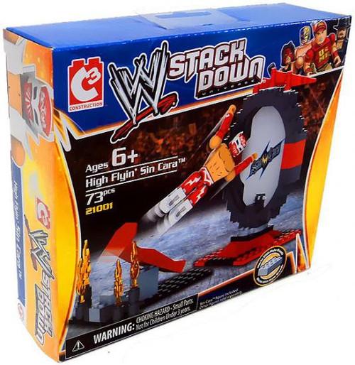 WWE Wrestling C3 Construction WWE StackDown High Flyin' Sin Cara Set #21001