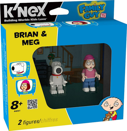 K'NEX Family Guy Brian & Meg Minifigure 2-Pack #44041