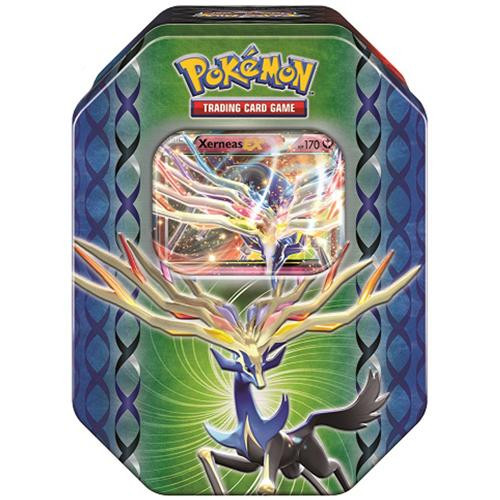 Pokemon Trading Card Game 2014 Black & White Legends of Kalos Xerneas Tin Set