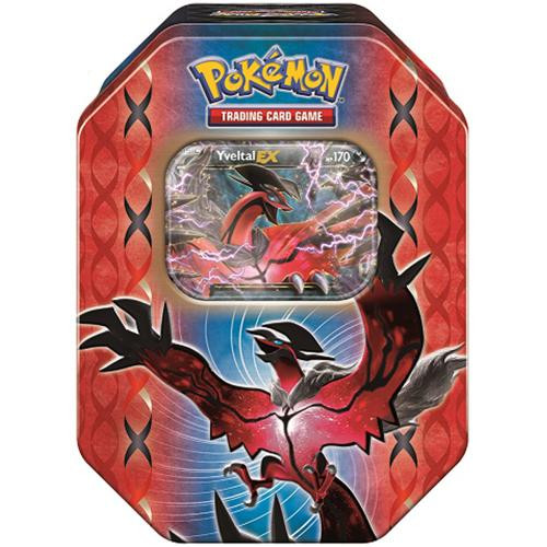 Pokemon Trading Card Game 2014 Black & White Legends of Kalos Yveltal Tin Set