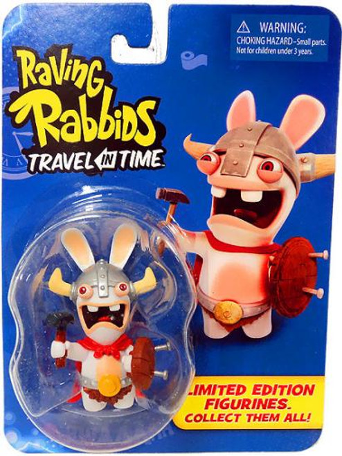 Raving Rabbids Travel in Time Viking Collectible Figure