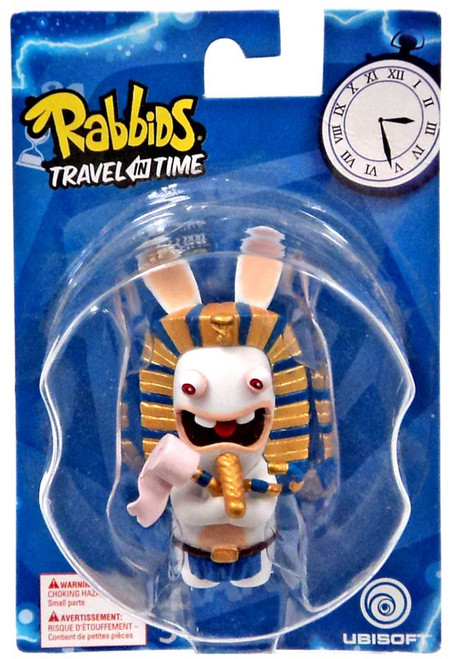 Raving Rabbids Travel in Time Pharoah Collectible Figure