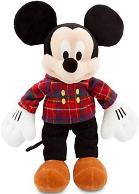 Disney 2013 Holiday Mickey Mouse Exclusive 17-Inch Plush [Plaid Jacket]