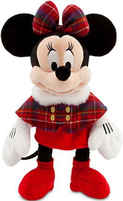 Disney 2013 Holiday Minnie Mouse Exclusive 17-Inch Plush [Plaid Cape]