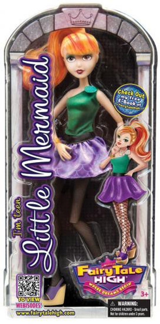 Fairy Tale High Little Mermaid 11-Inch Doll