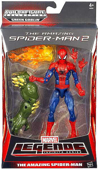 The Amazing Spider-Man 2 Marvel Legends Green Goblin Series The Amazing Spider-Man Action Figure