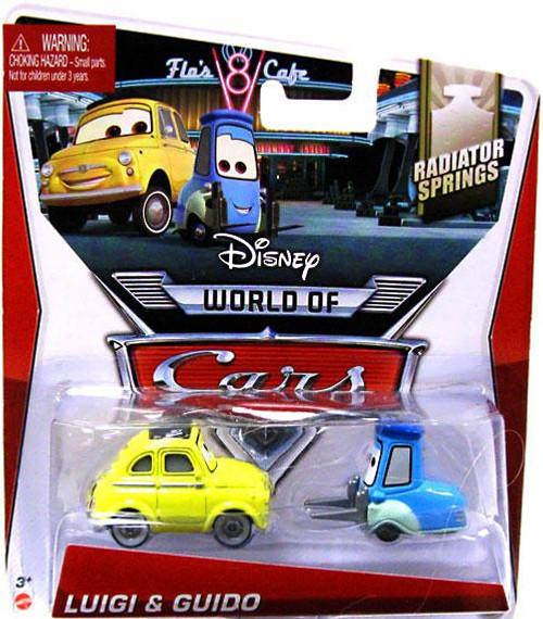 Disney / Pixar Cars The World of Cars Series 2 Luigi & Guido Diecast Car #3/4 of 15