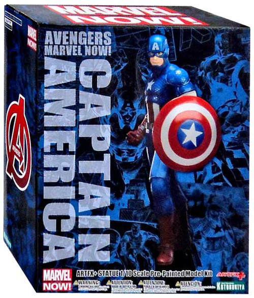 Avengers ArtFX Marvel Now Captain America Statue