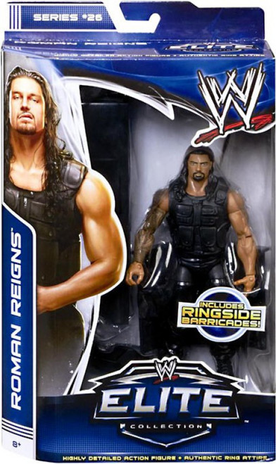 WWE Wrestling Elite Collection Series 26 Roman Reigns Action Figure [Ringside Barricades]